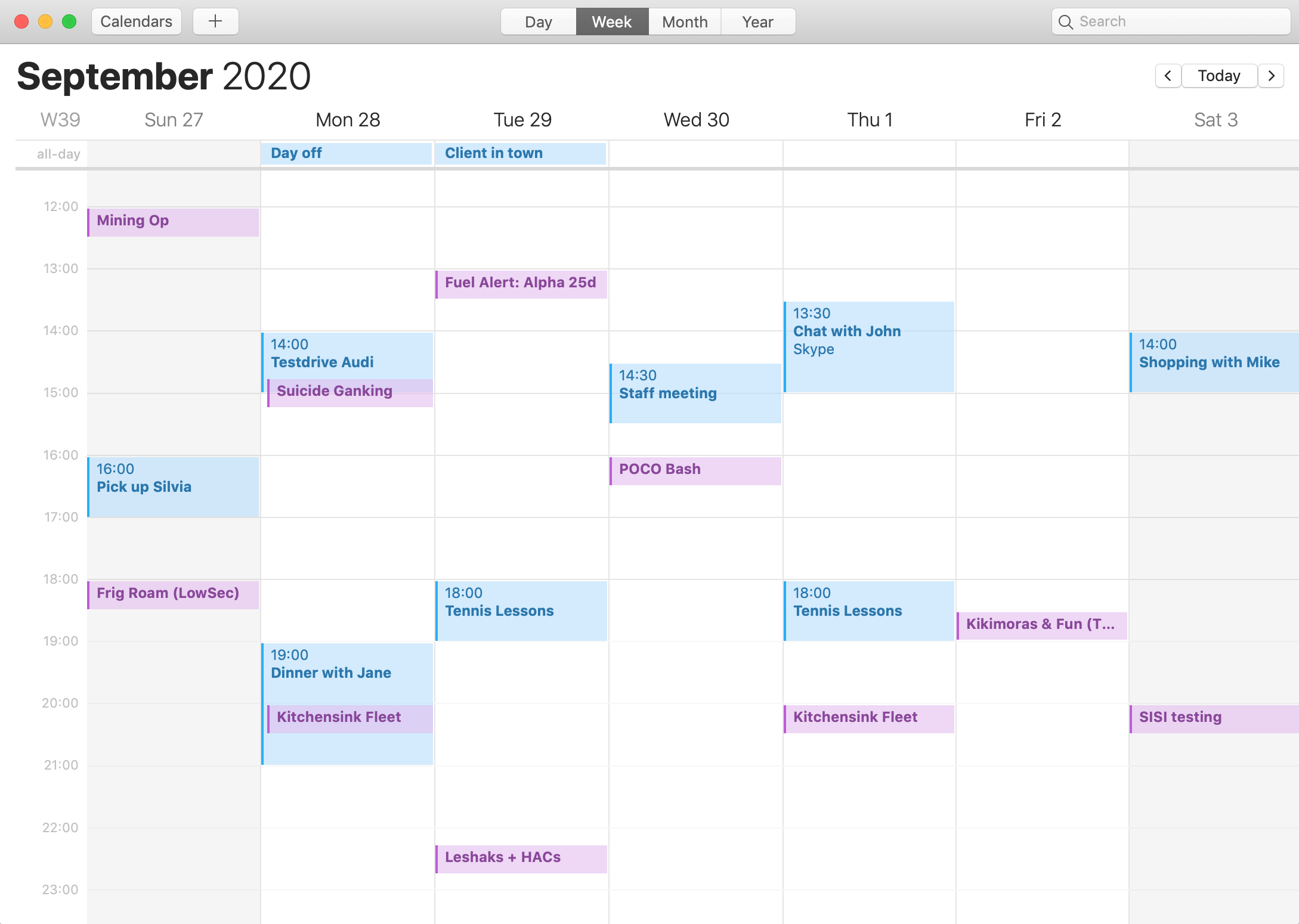 Integration with Apple Calendar